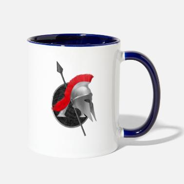 Helmet Spartan Weapons - Two-Tone Mug