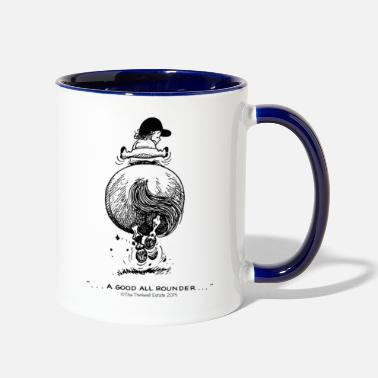 Gallop PonyGalopp Thelwell Cartoon - Two-Tone Mug