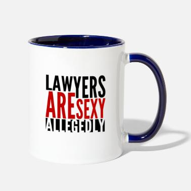 Lawyers Are Sexy - Two-Tone Mug