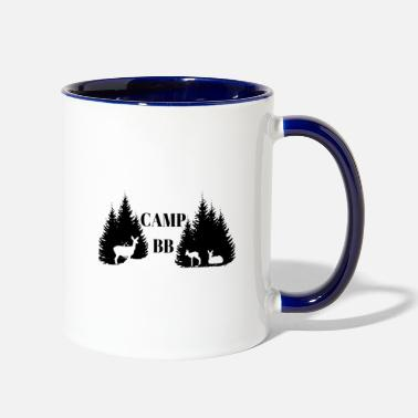 Bb Camp BB - Two-Tone Mug