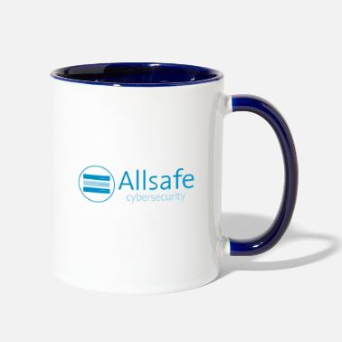 Allsafe CyberSecurity - Two-Tone Mug