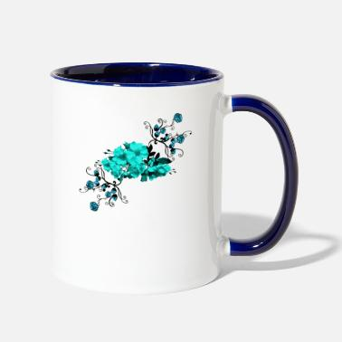 Flower Flowers,Flower, Flower, Nature, Flowers, - Two-Tone Mug