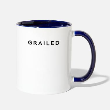Grail grailed - Two-Tone Mug