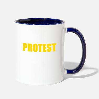 Protestant PROTEST - Two-Tone Mug