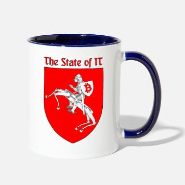State The State of IT - Two-Tone Mug