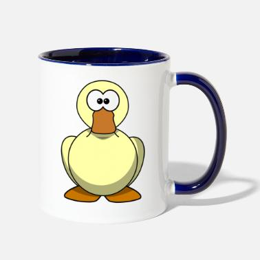 Duck duck - Contrast Coffee Mug
