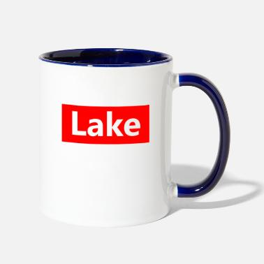 Lake lake - Contrast Coffee Mug