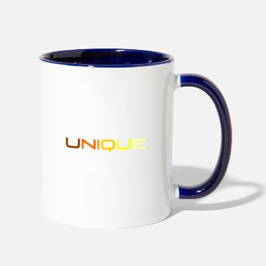 One Of A Kind UNIQUE - One of a kind - Two-Tone Mug