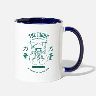 Monk The Mad Monk Giftidea - Two-Tone Mug