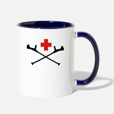 Accident accident - Two-Tone Mug