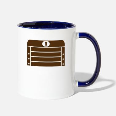 Treasure treasure - Two-Tone Mug