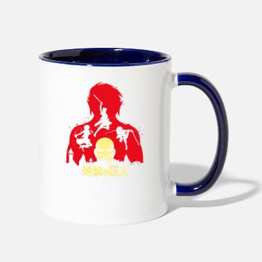 Attack On Titan attack on titan - Two-Tone Mug