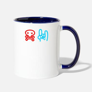 Rock N Roll Rock n Roll - Two-Tone Mug