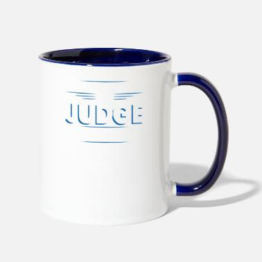 Judge Judge Mistakes - Contrast Coffee Mug