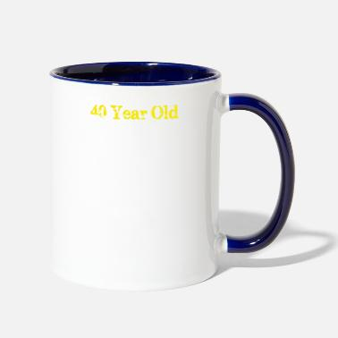 Years Old 40 Year Old - Two-Tone Mug