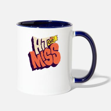 Typo Collection Talk Miss - Two-Tone Mug