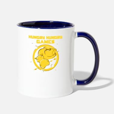 Hungry Hungry Hungry Games - Two-Tone Mug
