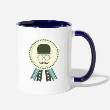 Award dad award - Two-Tone Mug