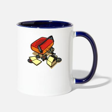 Record Champion Record Eater - Two-Tone Mug