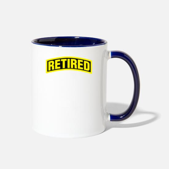 Game Mugs & Drinkware - Retired - Two-Tone Mug white/cobalt blue