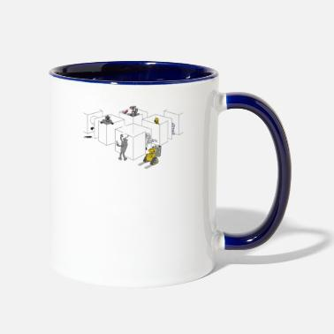 Corporate Corporate Robots - Two-Tone Mug