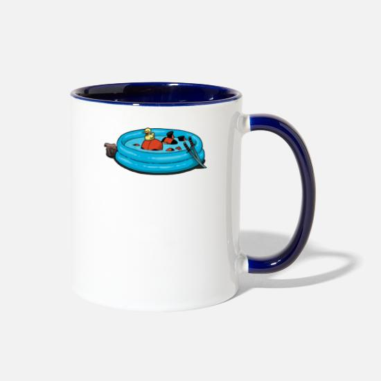 Game Mugs & Drinkware - Dead - Two-Tone Mug white/cobalt blue