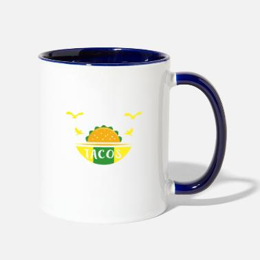 Bird Watching and Tacos - Contrast Coffee Mug