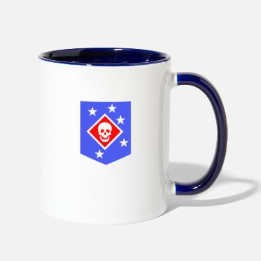 Raider Marine Raiders - Two-Tone Mug