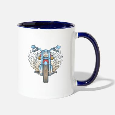 Dream I DON'T SNORE I DREAM I'M A MOTORCYCLE - Two-Tone Mug