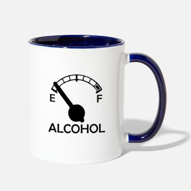 Alcohol ALCOHOL - Contrast Coffee Mug