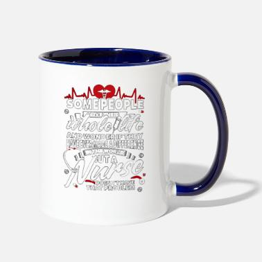 Nurse Nurse - Contrast Coffee Mug