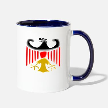 German-eagle german eagle - Contrast Coffee Mug