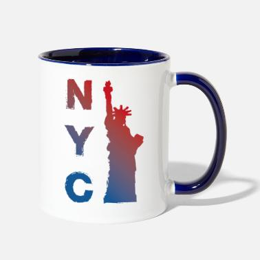New York City New York City - Contrast Coffee Mug