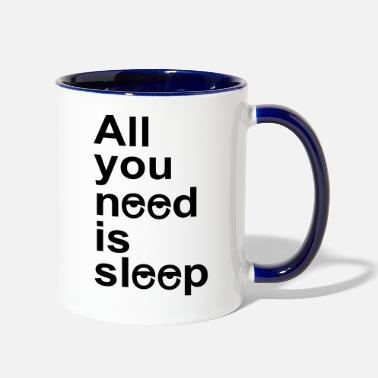 Sleep In sleep - Two-Tone Mug