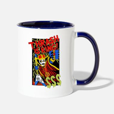 Thrash Thrash King - Two-Tone Mug
