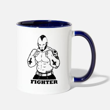 Fighter Fighter - Contrast Coffee Mug