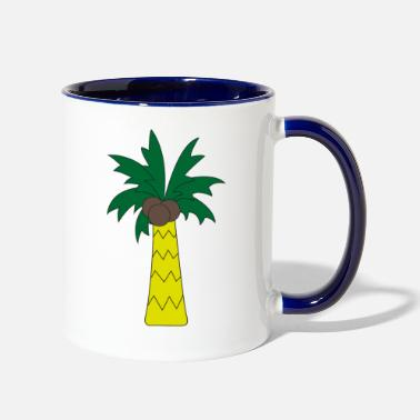 Palm Trees Palm tree - Contrast Coffee Mug