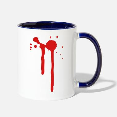 Bloody Bloody - Contrast Coffee Mug