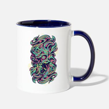 Medieval Medieval Monster - Two-Tone Mug