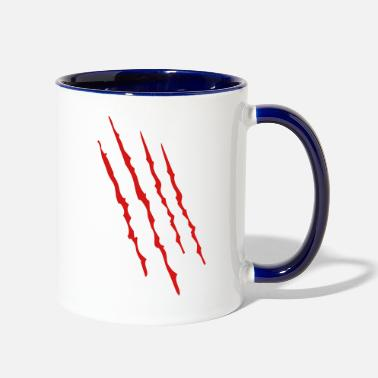 Bloods blood - Two-Tone Mug