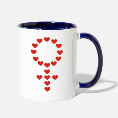 Female female - Two-Tone Mug