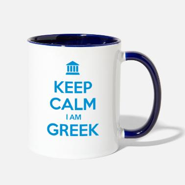 Ancient GREECE - Two-Tone Mug