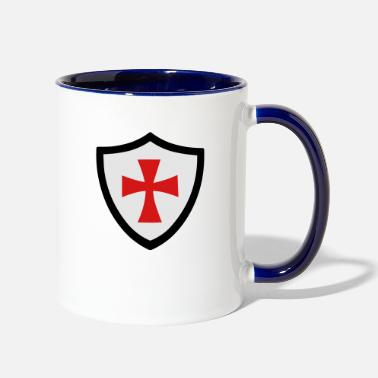Shield shield - Two-Tone Mug