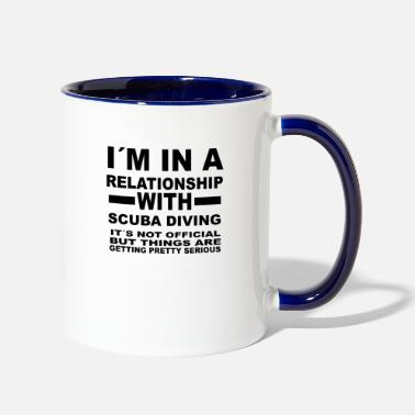 Scuba relationship with SCUBA DIVING - Contrast Coffee Mug