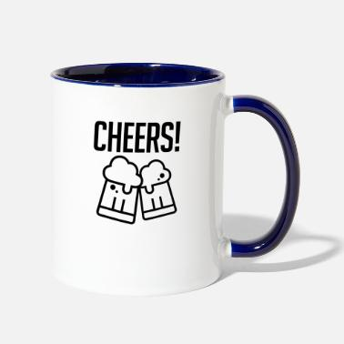 Cheers Cheers - Contrast Coffee Mug