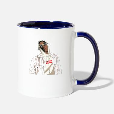 Rapper Rapper Shirt - Two-Tone Mug