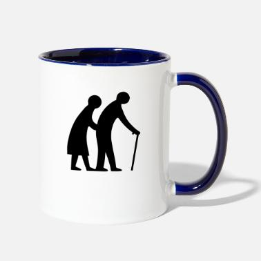 Senior Seniors - Two-Tone Mug