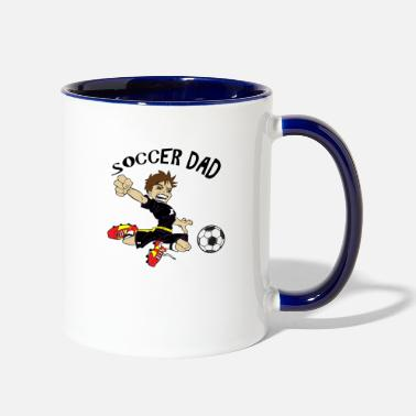 Balonpie SOCCER DAD - Two-Tone Mug