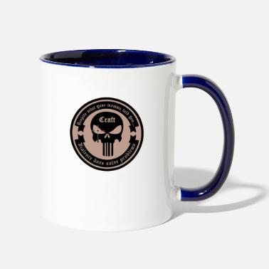 Violence does solve Problems - Two-Tone Mug
