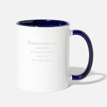 Government Government by the worst - Contrast Coffee Mug